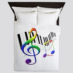 Keyboard Queen Duvet