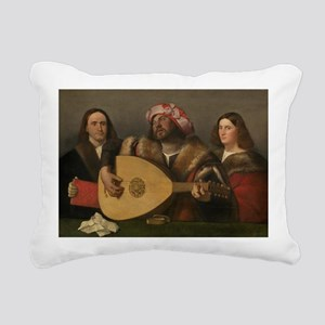 Cariani - A Concert Rectangular Canvas Pillow