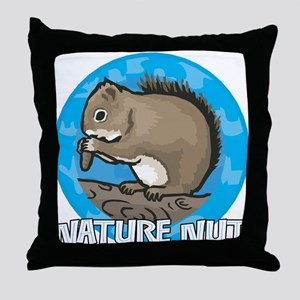 Nature Nut Throw Pillow