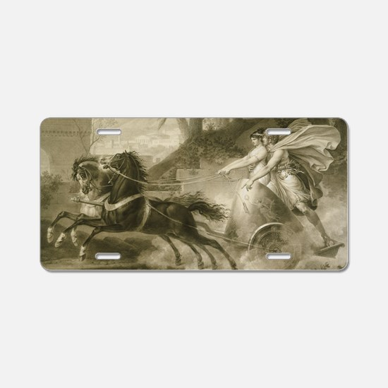 Carle Vernet - The Return f Aluminum License Plate