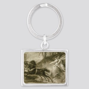 Carle Vernet - The Return from  Landscape Keychain