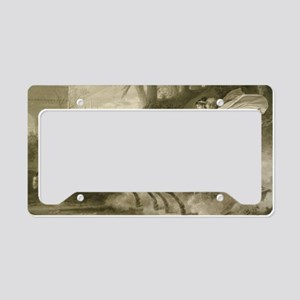 Carle Vernet - The Return fro License Plate Holder