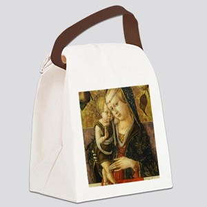 Carlo Crivelli - Madonna and Chil Canvas Lunch Bag