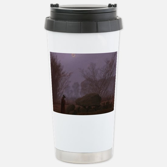 Caspar David Friedrich  Stainless Steel Travel Mug