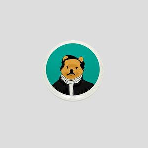 Winnie the Poe Mini Button