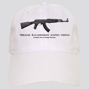 Mikhail Kalashnikov knows things about firearm Cap