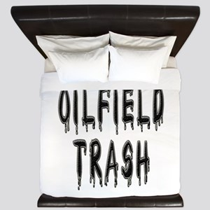 Oilfield Trash King Duvet