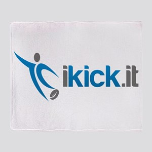 ikick.it Throw Blanket