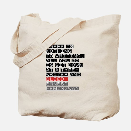 There is Nothing to Writing Tote Bag