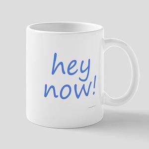 hey now! blue Mug