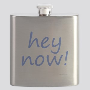 hey now! blue Flask
