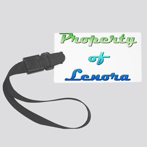 Property Of Lenora Female Luggage Tag