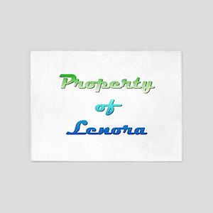 Property Of Lenora Female 5'x7'Area Rug
