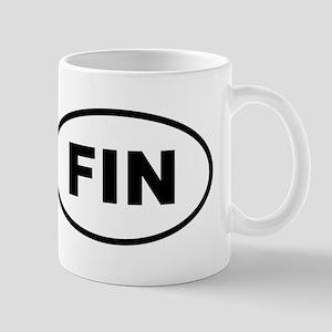 Finland FIN Mugs
