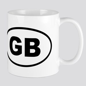 Great Britain GB Mugs