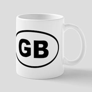 Great Britain GB Mugs