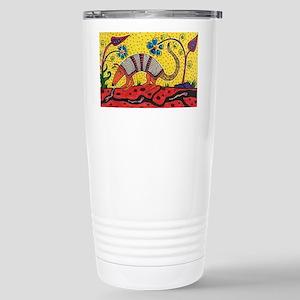 Armadillo Original Art Stainless Steel Travel Mug