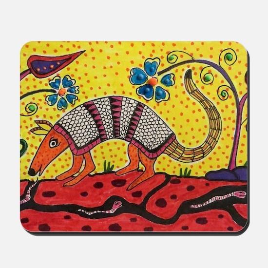 Armadillo Original Art Mousepad