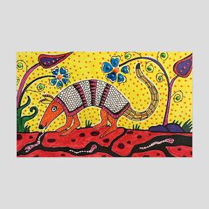 Armadillo Original Art 35x21 Wall Decal