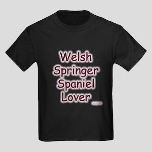 Welsh Springer Lover Kids Dark T-Shirt