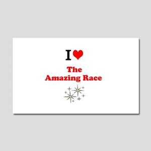 I Love the Amazing Race Car Magnet 20 x 12