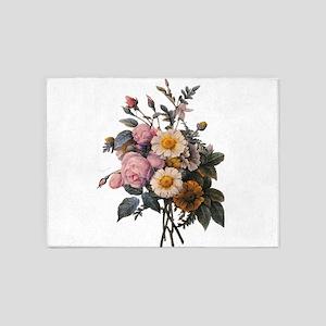 vintage botanical art, beautiful yellow daisy and