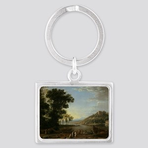 Claude Lorrain - Landscape with Landscape Keychain