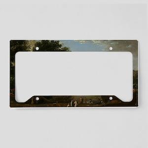 Claude Lorrain - Landscape wi License Plate Holder