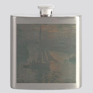 Claude Monet - Sunrise (Marine) Flask