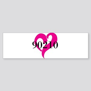 I Love 90210 Bumper Sticker