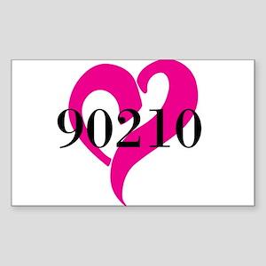 I Love 90210 Sticker
