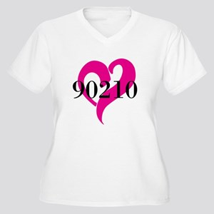 I Love 90210 Plus Size T-Shirt