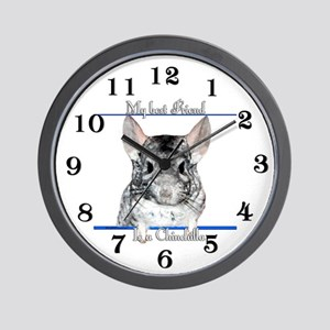 Chinny Best Friend2 Wall Clock