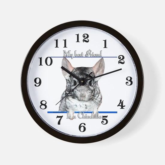 Chinny Best Friend2 Wall Clock