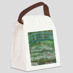 Claude Monet - The Japanese Footb Canvas Lunch Bag