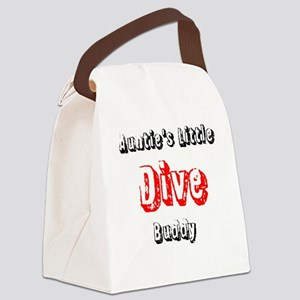 Auntie's dive buddy Canvas Lunch Bag
