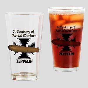 Zeppelin Drinking Glass