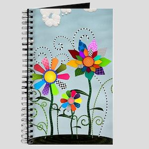 Whimsical Flowers Journal