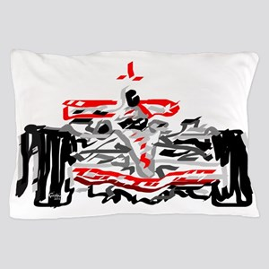 Race car Pillow Case