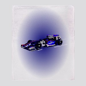 Formula 1 Throw Blanket