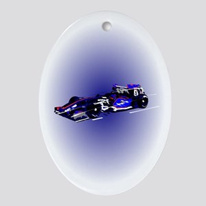 Formula 1 Oval Ornament
