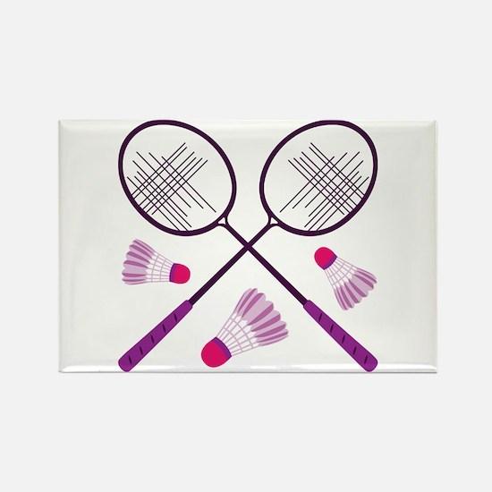 Badminton Rackets Magnets
