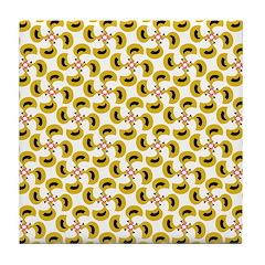 Mustard Chicken Tile Coaster