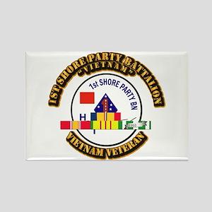 USMC - 1st Shore Party Battalion VN SVC Ribbon Rec