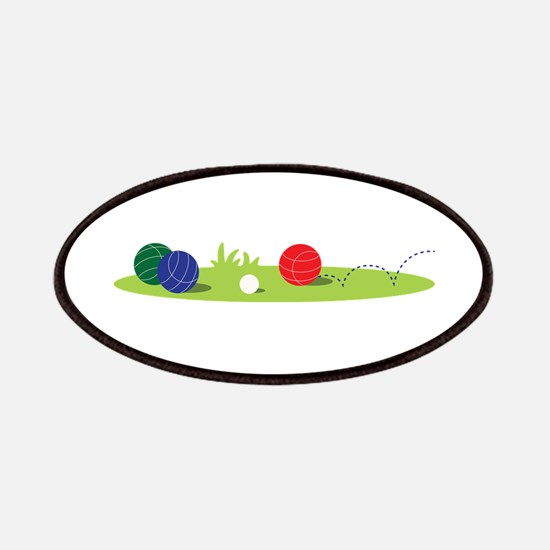 Bocce Ball Game Patches