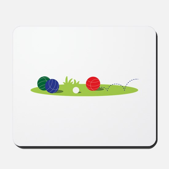Bocce Ball Game Mousepad