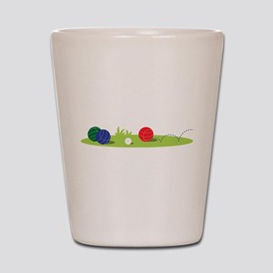 Bocce Ball Game Shot Glass