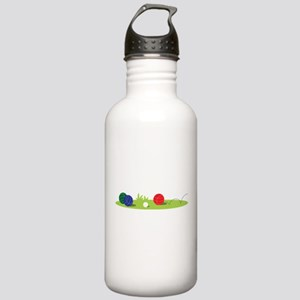 Bocce Ball Game Water Bottle