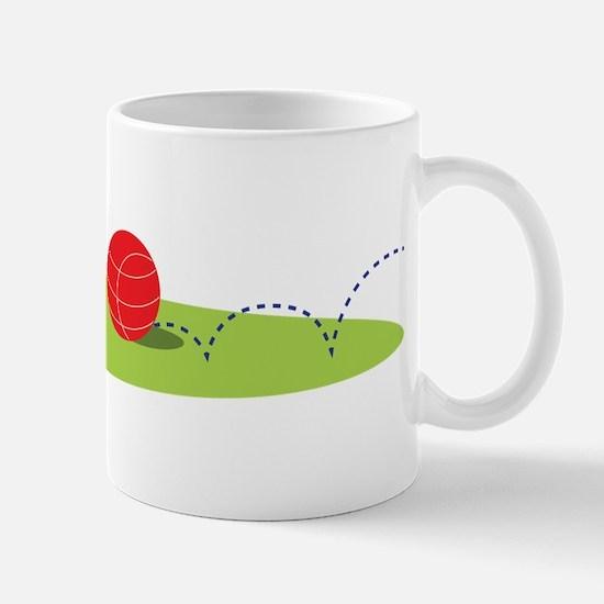 Bocce Ball Game Mugs