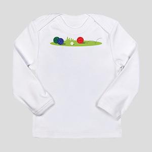 Bocce Ball Game Long Sleeve T-Shirt